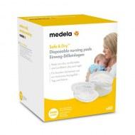 Lot de 60 coussinets d'allaitement jetables Safe & Dry Medela