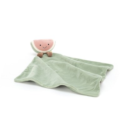 DOUDOU COUVERTURE PASTEQUE AMUSEABLE SOOTHER JELLYCAT