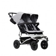 POUSSETTE DOUBLE DUET V3.2 GRISE MOUNTAIN BUGGY