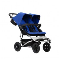POUSSETTE DOUBLE DUET NEW BLEU MARINE MOUNTAIN BUGGY