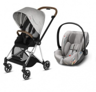 DUO POUSSETTE MIOS + CLOUD Z allongeable MIOS KOI édition fashion CYBEX