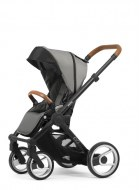 POUSSETTE EVO URBAN NOMAD BLACK/ COGNAC LIGHT GREY MUTSY