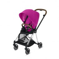 POUSSETTE MIOS FANCY PINK CHASSIS CHROME CYBEX