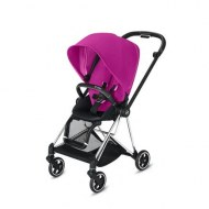 POUSSETTE MIOS FANCY PINK CHASSIS CHROME BLACK CYBEX