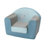 FAUTEUIL CLUB FLOCON L'OURSON DOMIVA