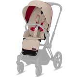 PACK SIEGE PRIAM EDITION SCUDERIA FERRARI SILVER GREY PRIAM CYBEX