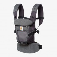 PORTE-BEBE ADAPT COOL AIR MESH GRIS CHINÉ ERGOBABY