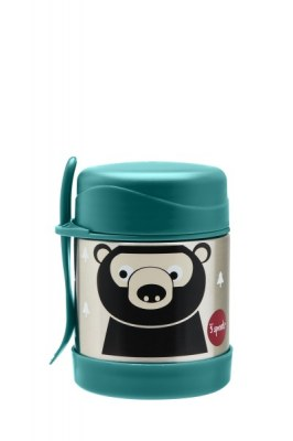 BOITE ALIMENTAIRE ISOTHERME AVEC FOURCHETTE OURS 3 SPROUTS