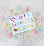 SET DE LETTRES KAWAII POUR BOITE LUMINEUSE A LITTLE LOVELY COMPANY