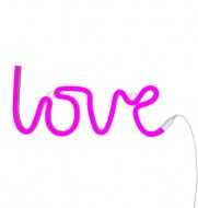 LAMPE STYLE NEON LOVE ROSE LITTLE LOVELY COMPANY