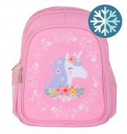 SAC A DOS AVEC POCHE ISOTHERME LICORNE A LITTLE LOVELY COMPANY
