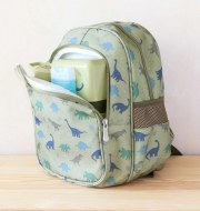 SAC A DOS AVEC POCHE ISOTHERME DINOSAURES A little lovely Company