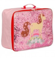 VALISE CHEVAL GLITTER A LITTLE LOVELY COMPANY