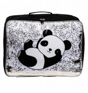 VALISE PANDA GLITTER A LITTLE LOVELY COMPANY