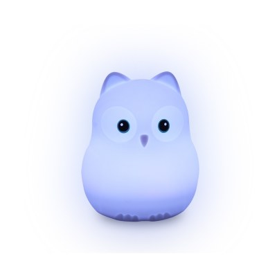 VEILLEUSE SILICONE CHOUETTE LIGHTS 4 KIDS