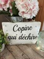"""POCHETTE """"COPINE QUI DÉCHIRE"""" Pardeuxcestmieux"""
