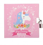 JOURNAL INTIME LICORNE A LITTLE LOVELY COMPANY