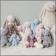 Les lapins Jellycat
