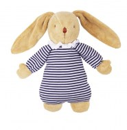 PELUCHE MUSICALE LAPIN NID D'ANGE MARINIERE TROUSSELIER