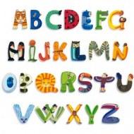 Lettres en bois décoratives