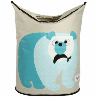 PANIER A LINGE OURS POLAIRE 3 SPROUTS