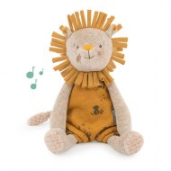 PELUCHE MUSICALE LION SOUS MON BAOBAB MOULIN ROTY