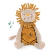PELUCHE MUSICALE LION SOUS MON BAOBAB MOULIN ROTY