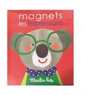 Jeu magnétique MAGNETS LES EXPRESSIONS MOULIN ROTY