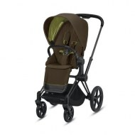 POUSSETTE PRIAM PLATINUM MATT BLACK KHAKI GREEN CYBEX