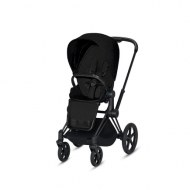 POUSSETTE PRIAM PLATINUM MATT BLACK STARDUST BLACK PLUS CYBEX