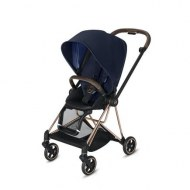 POUSSETTE MIOS INDIGO BLUE CHASSIS ROSE GOLD CYBEX