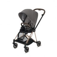 POUSSETTE MIOS MANHATTAN GREY CHASSIS ROSE GOLD CYBEX