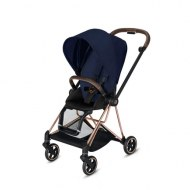 POUSSETTE MIOS MIDNIGHT BLUE PLUS CHASSIS ROSE GOLD CYBEX