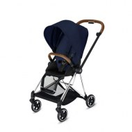 POUSSETTE MIOS MIDNIGHT BLUE PLUS CHASSIS CHROME CYBEX