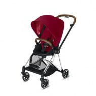 POUSSETTE MIOS TRUE RED CHASSIS CHROME CYBEX