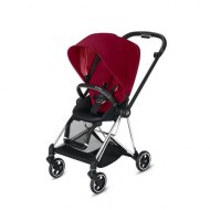 POUSSETTE MIOS TRUE RED CHASSIS CHROME BLACK CYBEX