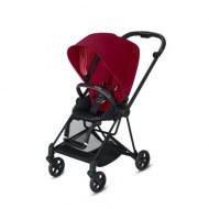 POUSSETTE MIOS TRUE RED CHASSIS MATT BLACK CYBEX
