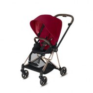 POUSSETTE MIOS TRUE RED CHASSIS ROSE GOLD CYBEX