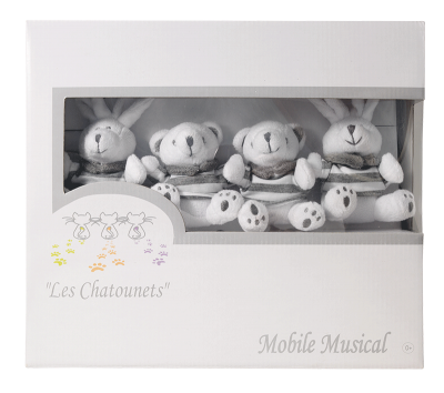 MOBILE MUSICAL LAPIN CHIC LES CHATOUNETS