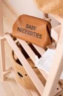 TROUSSE DE TOILETTE BABY NECESSITIES SIMILI CUIR BRUN CHILDHOME