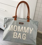 SAC A LANGER MOMMY BAG LARGE GREY CHILDHOME