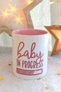 MUG PERSONNALISÉ BABY IN PROGRESS