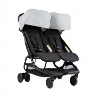 POUSSETTE DOUBLE NANO DUO SILVER MOUNTAIN BUGGY