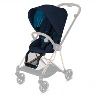 POUSSETTE MIOS NAUTICAL BLUE + CHASSIS MATT BLACK CYBEX