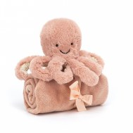 DOUDOU COUVERTURE OCTOPUS SOOTHER JELLYCAT