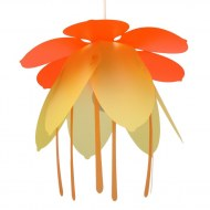 SUSPENSION LA FLEUR ORANGE-OR R&M COUDERT