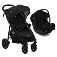DUO POUSSETTE LITETRAX + COSY I-GEMM i-size EMBER JOIE