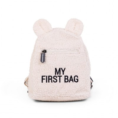 SAC A DOS MY FIRST BAG TEDDY ECRU CHILDHOME