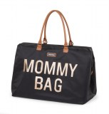SAC A LANGER MOMMY BAG LARGE NOIR OR CHILDHOME