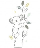 STICKERS XL KOALA SUR BRANCHE LILIPINSO